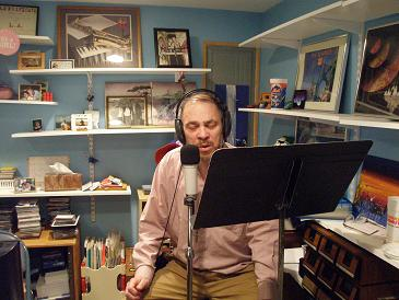 Pastor Jim in the studio
